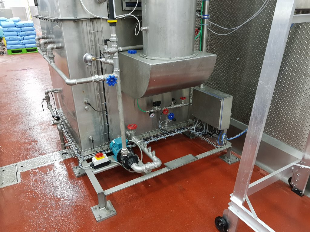 odour acridity issue solved for seafood client